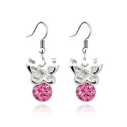 Cheap Metal Girls Earrings /Fashion Jewelry 4450-4454