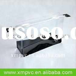 Clear pvc makeup bag with zipper XYL-C305