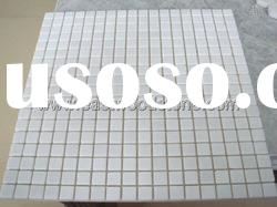 Colorful and good quality white marble mosaic tile