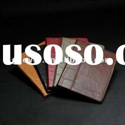 Crocodile leather case for the new ipad,crocodie leather case for ipad 3