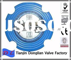 DIN/ANSI wafer type dual plate butterfly check valve