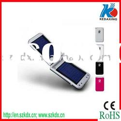 Dual solar charger with 1pc super white light