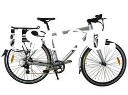 Electric bicycle TM709,with Shimano 9 speed,brushless gear motor