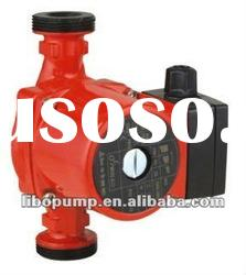Electric water heater booster pump