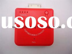 Emergency Mobile Phone Battery Charger With 1900MAH For Iphone 4