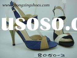 Fashion high heel ladies shoes