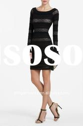 Fashion lady SHIRRED LACE Dress /Party Dresses /skirts