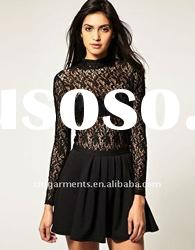 Fashion woman's Lace Body Top