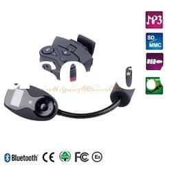 Fashionable colorful car kit for iphone 3g with A2DP & CVC technology