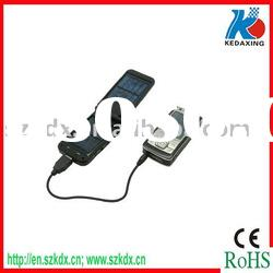 Foldable solar charger with 1pc super white light