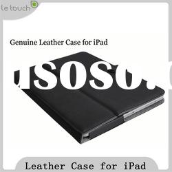 For iPad Leather Case with snap on