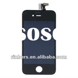 For iPhone 4S 4GS Front LCD Digitizer Glass Screen Assembly Replacement Black