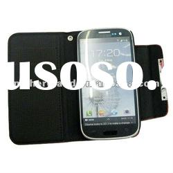 For samsung Galaxy s3 Wallet leather case