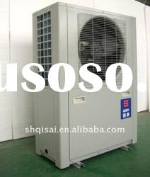 Free standing high cop air source heat pump hot water heater