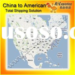 Freight forwarding services to Ohio,USA/sea freight from china to CINCINNATI