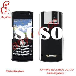 GSM Mobile Phone 8100 with Valid PIN+EDGE+Push Email+Full QWERTY Keyboard+ Low Price