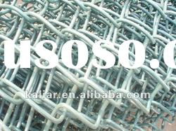 Galvanized Chain link fence ( factory)