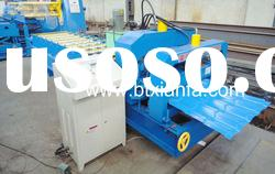 Glazed tile metal sheet roll forming machine XF40-256-768