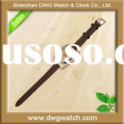 Good quality watch ladies with thin leather strap latest DWG-L0033