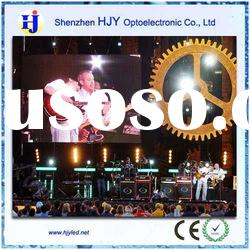 HJY high quality P6 indoor LED display