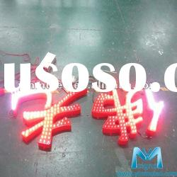 HOT Manufacturing led channel letter sign(LED Light)