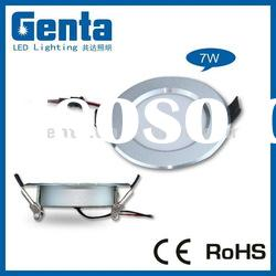 HOT! ultra-thin 4inch round smd led down light 7w (CE&ROHS)