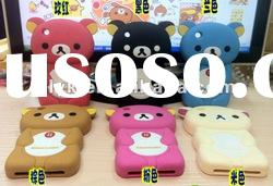 Happy bear case, silicone case for mobile phone, protective case
