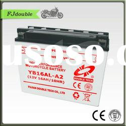 Heavy Duty Storage Motorcycle Battery YB16AL-A2(12v 16ah) With Best Price