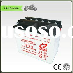 Heavy Duty Storage Motorcycle Battery YB16-B(12v 19ah) With Best Price