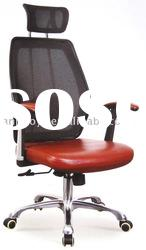 High-back (red) office mesh chair (BY-224)