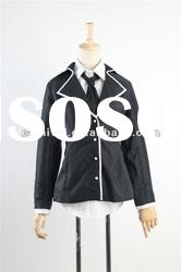High school uniform for sale/Black school dress(BSWC-3216)