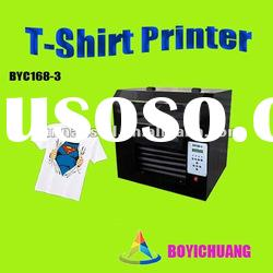 Hot digital direct to t shirt flatbed printer a3
