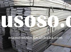 Hot rolled and cold-cut flat steel fence bar
