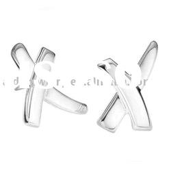 Imitation Jewellery Cross Silver designer earings E034
