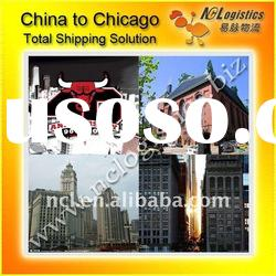 International shipping from China to CHICAGO,IL,USA