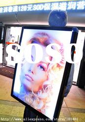Jd1-896 Aluminum Slim opal acrylic advertising led light box with high bright LED