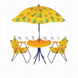 Kids Personalized Beach Folding Chair With Umbrella Kids