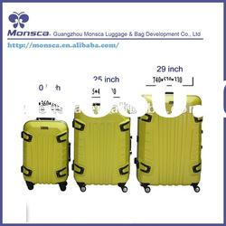 Lastest Hot sale Fashion design and high quality trolly luggage set