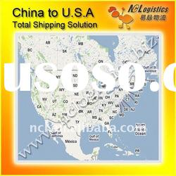 Logistic service from China to New Bedford,MA,USA