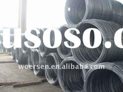 Low and high carbon steel wire rods