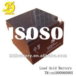 Maintenance free sealed lead acid rechargeable battery for solar system
