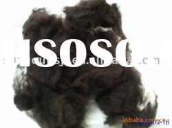 Manufacturers offercoffee Polyester staple Fiber size in 3D*32MM