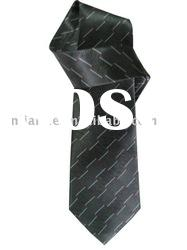 Men's 100% silk printed necktie