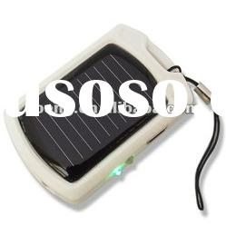 Mini USB Solar Charger With LED Keychain