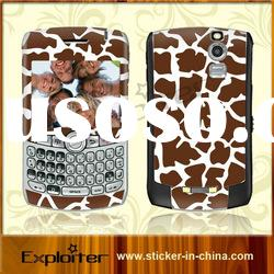 Mobile phone vinyl skin for Blackberry Curve 8300