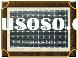 Mono crystalline module 200w solar panel with UL,TUV,CEC