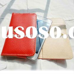New Arrival Mobile Phone Wallet Style Leather Case for Samsung Galaxy S2 i9100