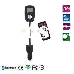 New bluetooth FM handsfree car kit with CVC technology and LCD display