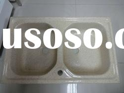 New sanitary ware, solid surface kitchen sink