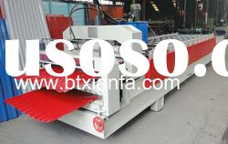 New type color steel glazed tile roll forming machine